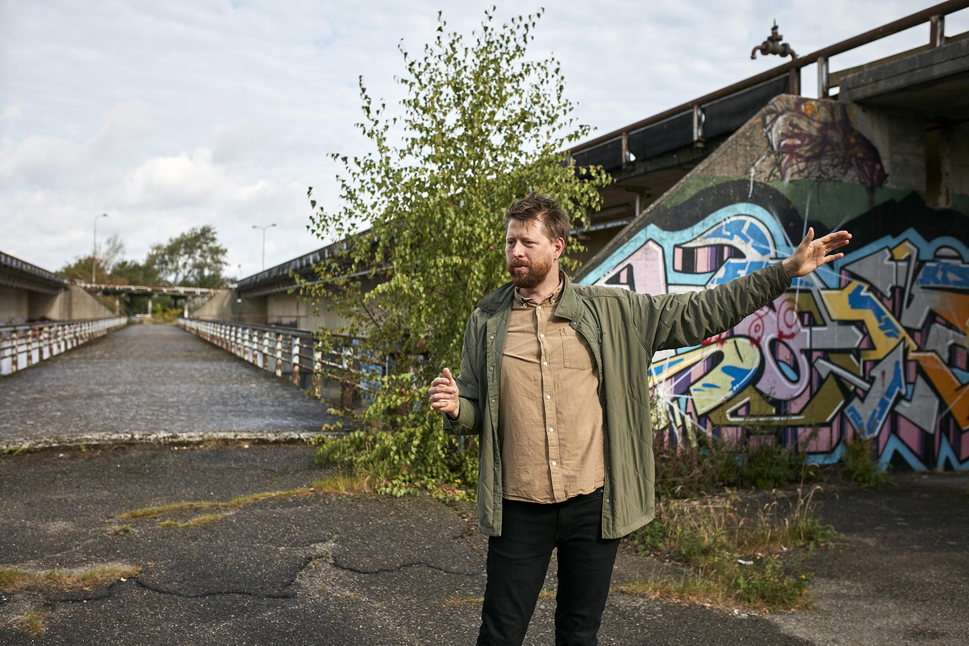 Andreas Munksgaard Weir tog springet direkte fra arkitektuddannelsen i København til et job som planlægger i Vordingborg Kommune.