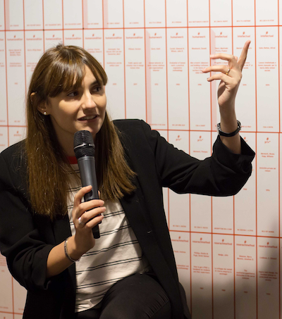 Angela Gigliotti presenting