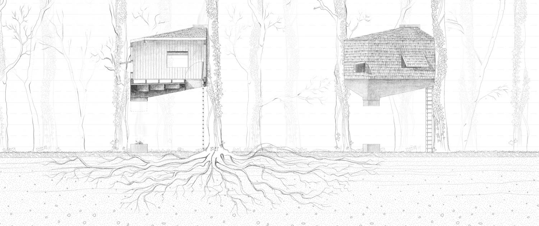 Udsnit af illustration // Emma Helene Rishøj Holm
