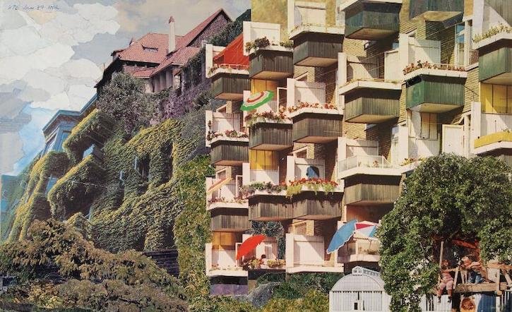Collage af Nils-Ole Lund